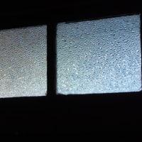 昭和レトロな型板ガラス(すりガラス)