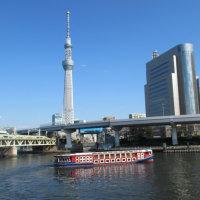 春のうららの隅田川!のぼりくだりので始まる滝廉太郎の名曲「花」、チトまだ寒いですね。
