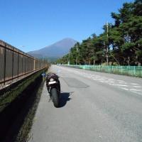 3号機で富士山スカイライン→本栖みちを走ってきた。