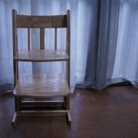 手作り椅子が壊れた