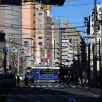 街中の鉄路