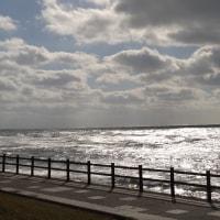 白い波が美しいオロロンライン♪