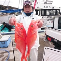 1月18日(水)新島キンメ 釣果
