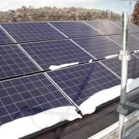 太陽光発電パネル搭載