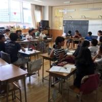 学校公開6  6年  討論会