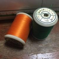 刺繍もミシンも難しい(-。-;