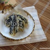 fotolia「なすの天ぷら」 なすの収穫続きます☆