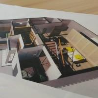 (仮称)シンプルに暮らすコンパクト回廊のある家・リノベーション(リフォーム)計画でコンパクトの意味を程よく一カ所集中というレイアウトで設計デザインの方向性を調整しながら。