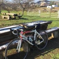 真冬の自転車ライド