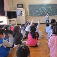 4・5・6年生の授業参観と学年部会がありました。