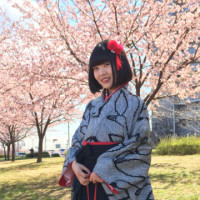 桜 満開の卒業式。。
