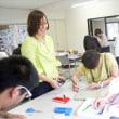 下関市立大学での畳講座。