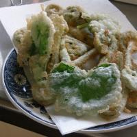 山菜の天ぷらです~
