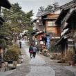 時が止まったような奈良井の宿、妻籠の宿、馬籠の宿の風景