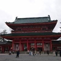 「平安神宮の桜🌸」〜平安時代の貴族のお姫様の様な垂れ桜が見れる、京都でも屈指の桜の名所