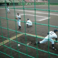 北信越高校野球・・・新潟大会(5日)鳥屋野球場
