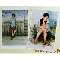 絵画販売・ポストカード「少年」