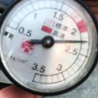 F31女子 なぜか空気圧を高めに入れられてしまいました.....