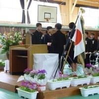 卒業式(3月7日)