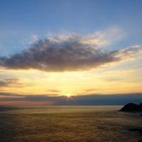 大戸からの夕景161017
