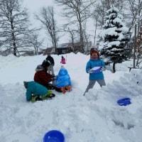 雪のプレイパーク