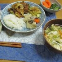 23日の夕食