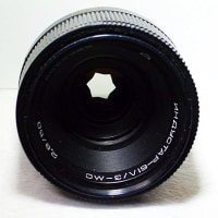 ダビデの星に変身するセミマクロレンズ ~INDUSTAR-61L/Z-MC 50mmF2.8