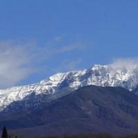 八ヶ岳 初冬の風景…原村にて