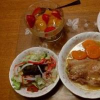 ポークと春キャベツのスープ煮♪