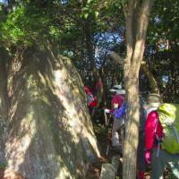 14 竜山・中野山・二艘木(490・580・290m:安芸区)登山  間もなく中野山に