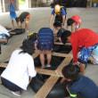 第二弾「子どもサマーキャンプ」の初日の後半と二日目の報告です。