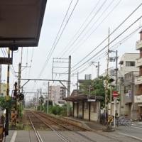 恵美須町駅へ向かって