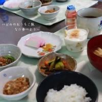 和朝食と孫ちゃん一歳一か月