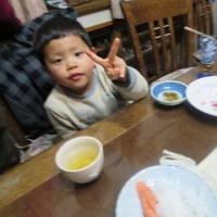 凛太郎ちゃんは今日4歳になりました
