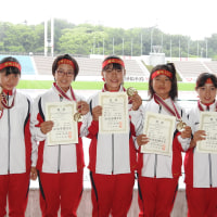 6月26日の日本選手権の小学生招待リレーについて
