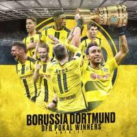 ドルトムントが、サッカーのドイツ杯 2016-17制覇。