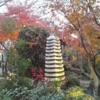 薄暮の石薬師寺