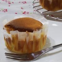 ふわっしゅわ~の濃厚スフレチーズケーキ(^◇^)