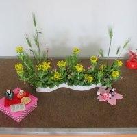 今日の生け花「祈り」