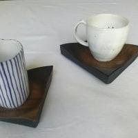 新クルミの木皿