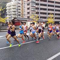 福岡国際マラソン応援