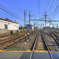 近鉄南大阪線と御所線/奈良県葛城市尺土