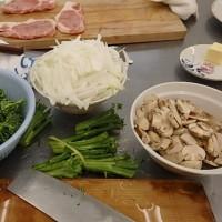 4月最後の料理教室は洋食