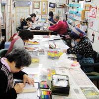 今年最後のパステル画教室