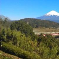 新年、日本列島雪景色。・・・富士山が最高にきれいだ。