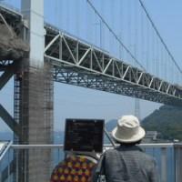 はがき絵 5月18日 ムカデ 鰻 19日 関門橋 20日 田植え準備 筍