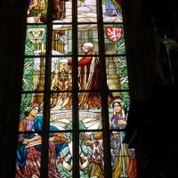 チェコ・聖バルボア教会・ステンドグラス