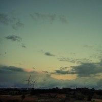 不気味で美しい雲。