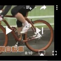 木の自転車 (自転車の世紀展)