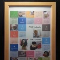 ウチの子年間カレンダーNo.1 Handmade-75